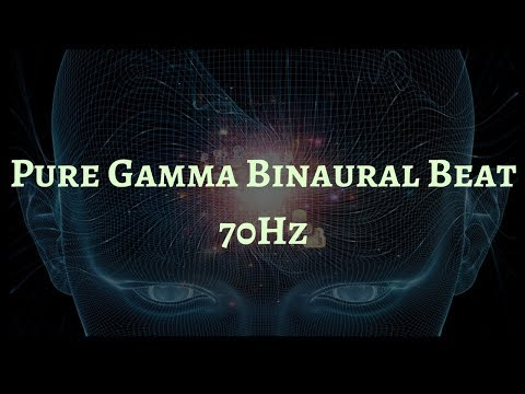 Pure Gamma Wave Frequency | 70Hz Gamma Binaural Beat