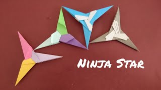 Origami Ninja Star 3 point Star 折纸忍者三角星 V2