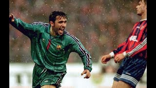 Gheorghe Hagi (Barcelona) Vs Bayern Munchen 1996 ● Goal & Highlights