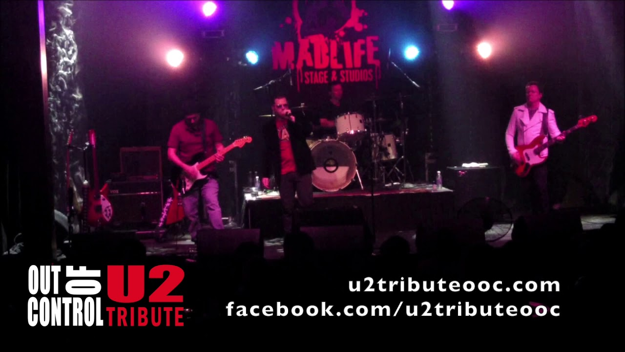 Out of Control - A U2 tribute band - Short Demo