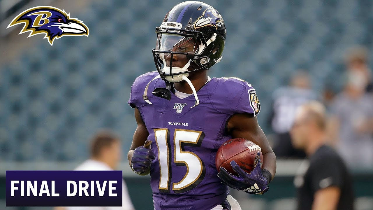 51d86caf Hollywood Brown's World-Class Speed Gets Instant Respect | Baltimore Ravens  Final Drive