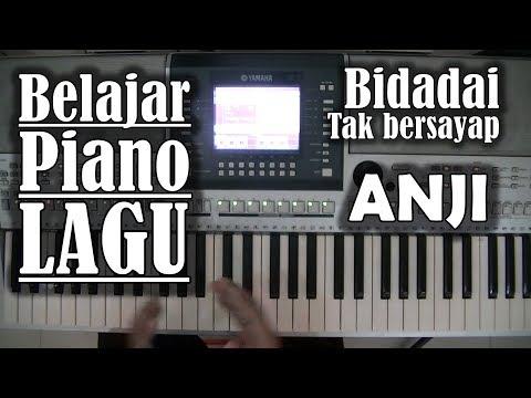Belajar Piano Lagu - Bidadari Tak bersayap (ANJI)
