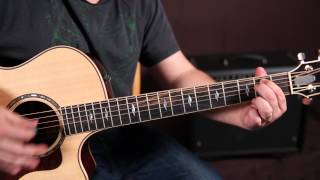 Take it Easy - The Eagles - Chords and Rhythm Guitar Lesson - Easy Acoustic Songs For Guitar