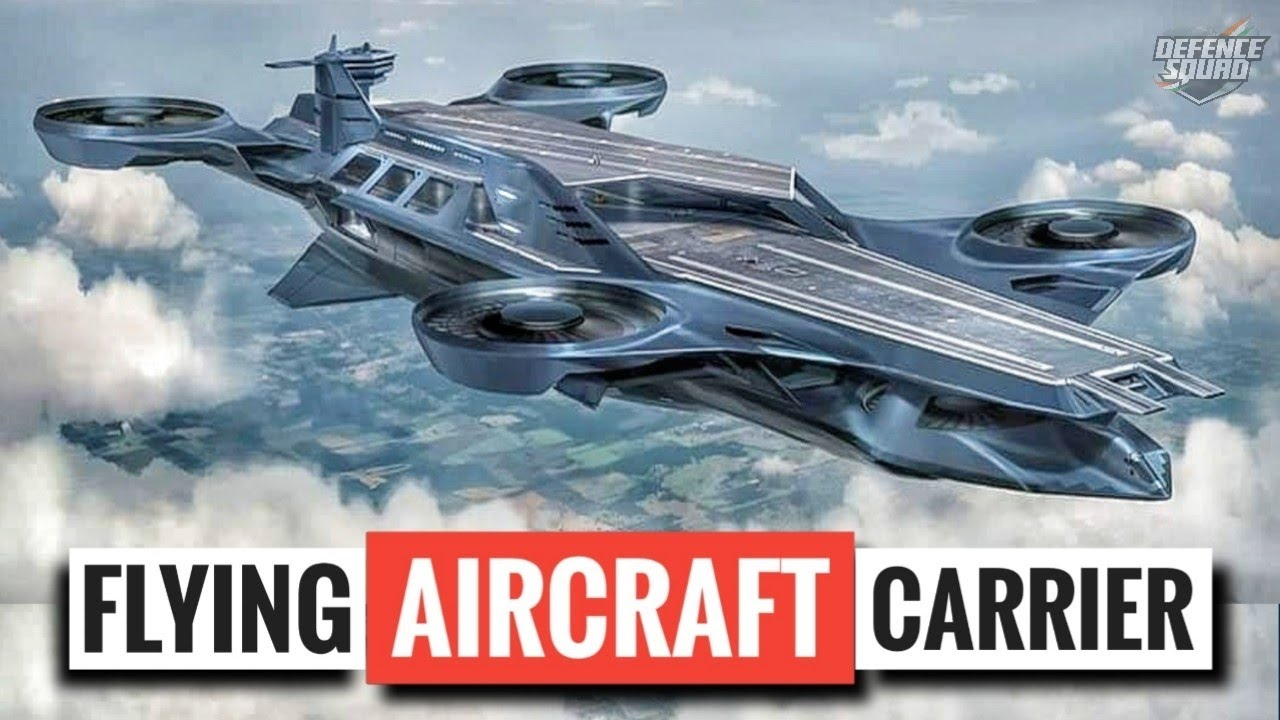 Flying Aircraft Carrier | Past & Future of Flying Aircraft Carriers
