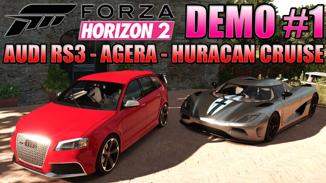 Forza Horizon 2 Demo Gameplay Sets Tone for Month's End