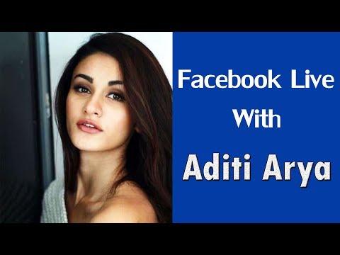 Aditi Arya LIVE