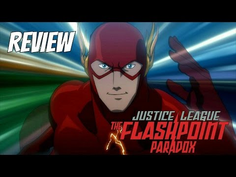 Review: Justice League THE FLASHPOINT PARADOX | Zona Freak