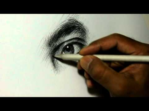 Download Youtube: Pencil Drawing Artist Alamgir at work