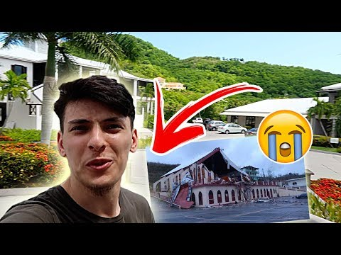 Hurricane Irma Destruction Before And After | ANTIGUA VLOG