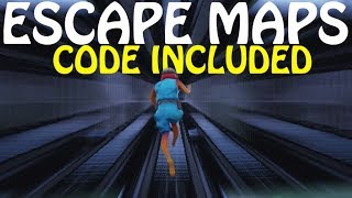TOP 5 *BEST* ESCAPE MAZE OBSTACLE COURSE MAPS IN FORTNITE CREATIVE (With Codes)