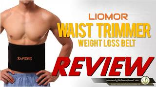 Waist Trimmer Belt by Liomor Review (Weight Loss Belt)