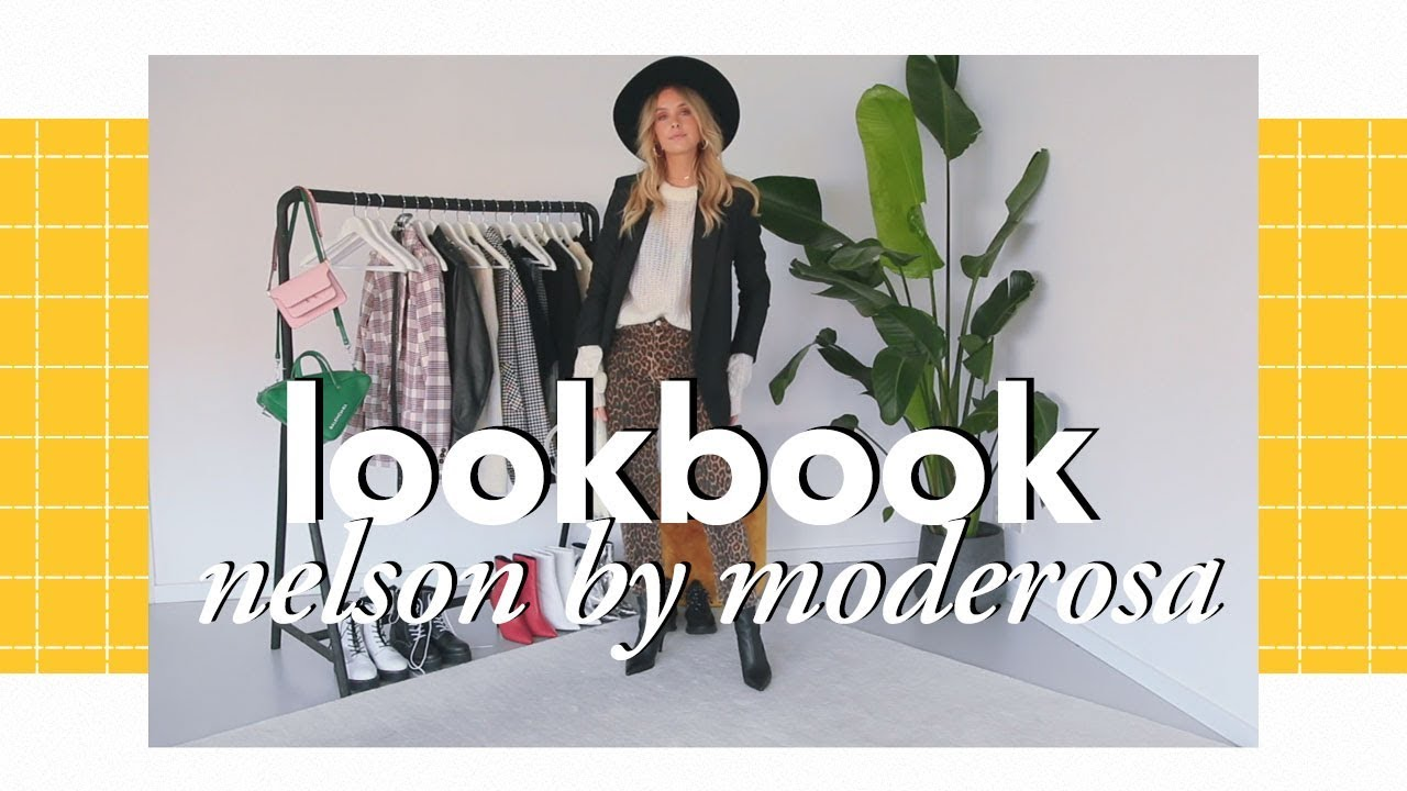 [VIDEO] - Nelson by Moderosa | Fall winter lookbook 2018 5