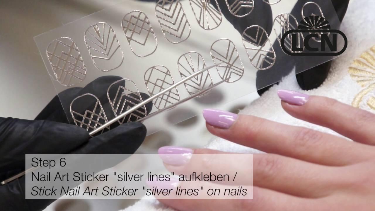 Lcn Nail Art Stickers Youtube