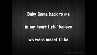 Vanessa Hudgens - Come Back To Me (HQ + Lyrics)