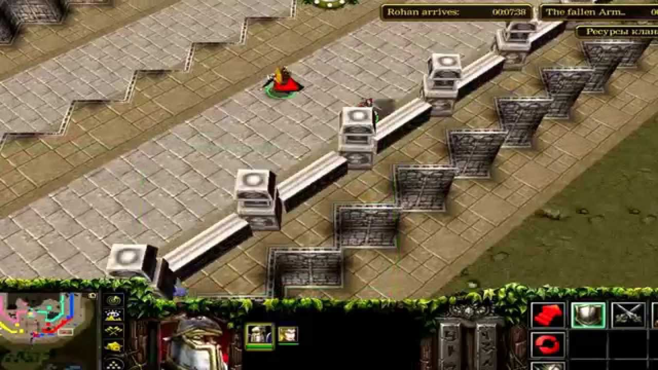 Warcraft III The siege of Minas Tirith  YouTube