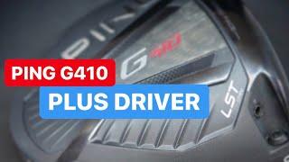 PING G410 PLUS DRIVER