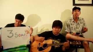 ถ่านไฟเก่า เบิร์ด ธงไชย - version acoustic cover by 3 Some?
