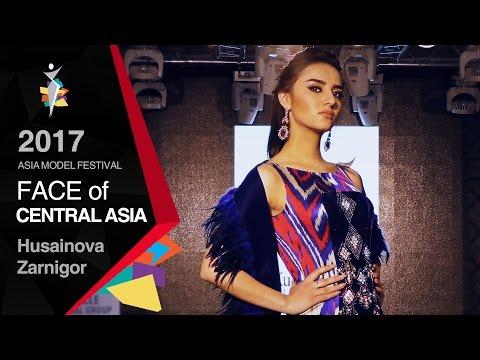 model Husainova Zarnigor (TAJIKISTAN) , 2017 Face of CENTRAL ASIA winner