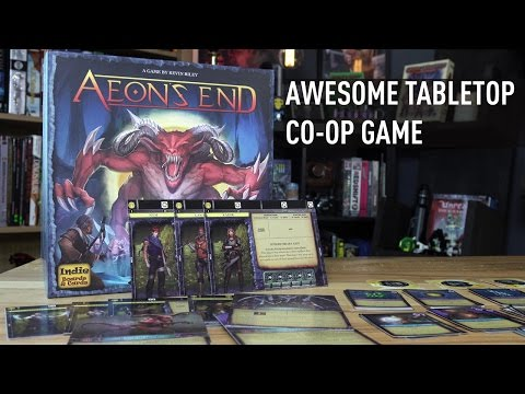 Awesome New Co-Op Tabletop Game: Aeon's End | Analog