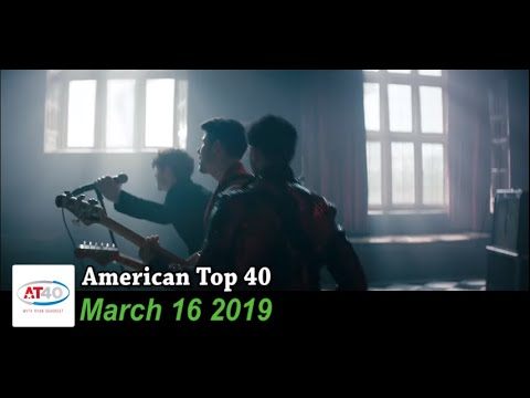 American Top 40 ~ March 16, 2019