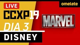 MARVEL E STAR WARS NA CCXP19 | Live