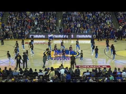 Warriors Jr Jam Squad 2017-2018   Warriors vs OKC   Finesse