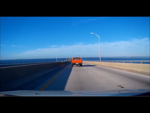 Courtney Campbell Causeway -- Eastbound and Westbound