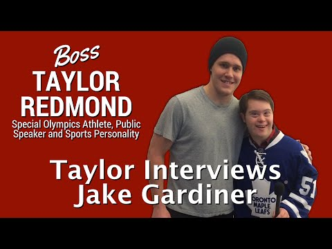 Taylor Redmond Interviews Toronto Maple Leafs Defenceman Jake Gardiner