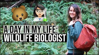 DAY IN THE LIFE OF A WILDLIFE BIOLOGIST