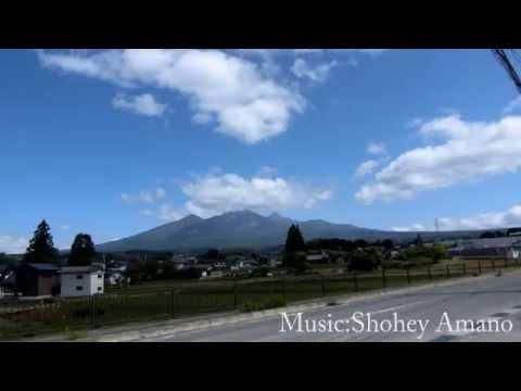 Mountain in Yamanashi,Japan with my Music