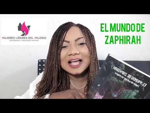 Increíble reseña de mi libro El Mundo De Zaphirah por Luz Gexi Girón fundadora de la plataforma Muje