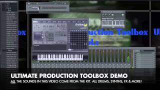 Ultimate Production Toolbox - Hip Hop Drum Kit, Kontakt Library & Direct Wave Library