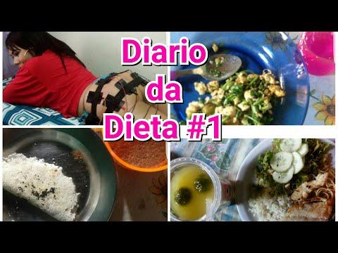 DIARIO DA DIETA #1 por JESSICA SILVA