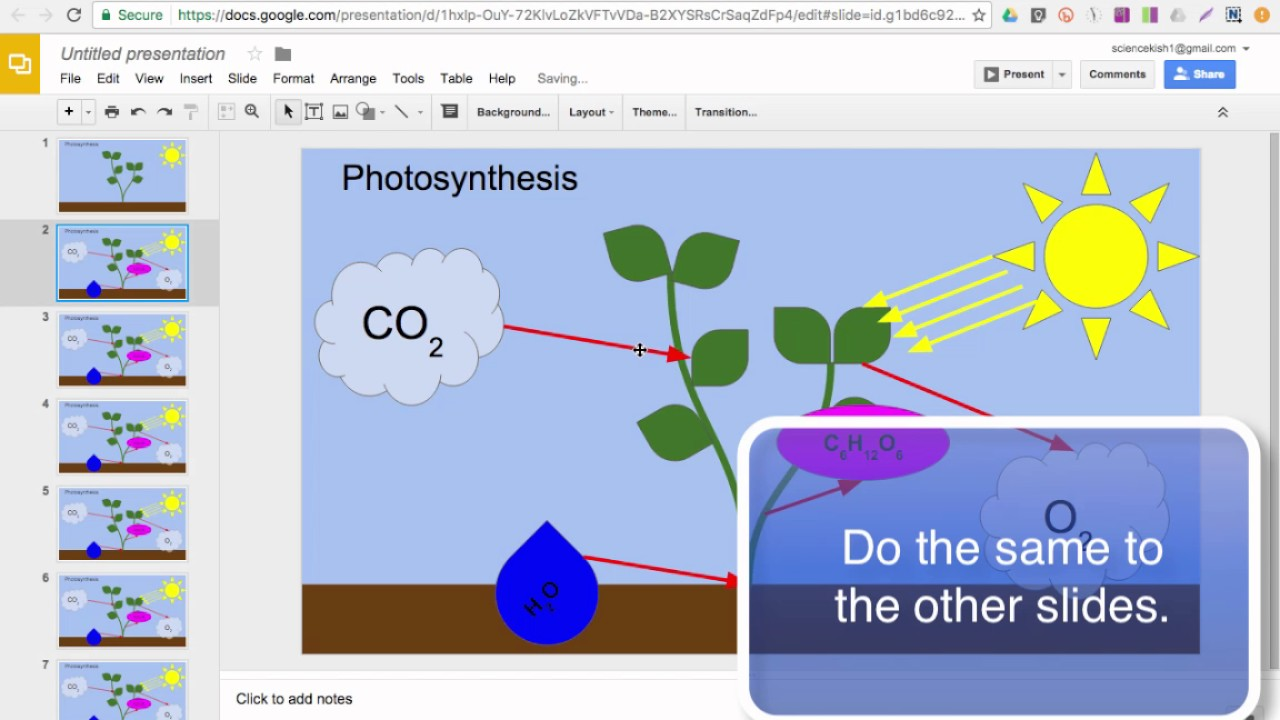 google slides how to make an animation from a drawing youtube