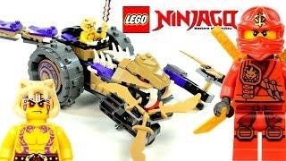 LEGO® Ninjago Anacondrai Crusher 70745 Speed Build w/ Kai & Krait