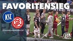 Regionalligist verpasst Turniersieg knapp   Karlsruher SC – Rot-Weiss Essen (Schauinslandreisen Cup)