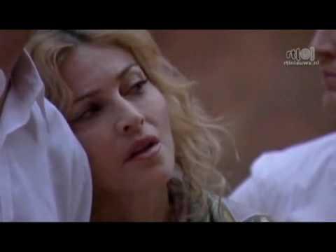 Madonna in Petra, Jordan