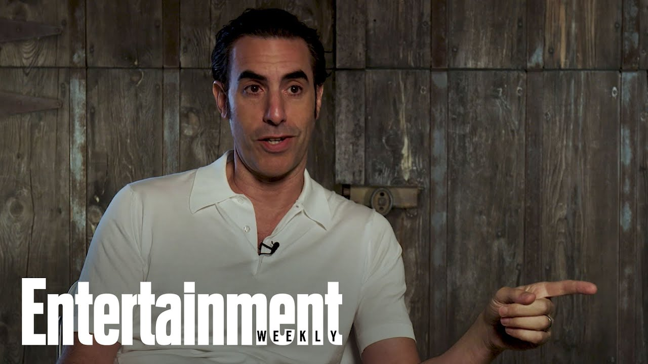 2020 Entertainers Of The Year: Sacha Baron Cohen