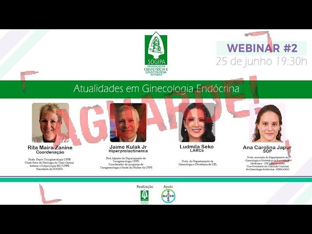 Webinar #2 - Atualidades em Ginecologia Endócrina