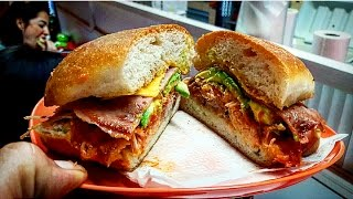 adventure UNBELIEVABLE!!! DELICIOUS MEXICAN TORTAS!! STREET FOOD WITH TONS OF FLAVOUR!! GUAMUCHIL, SINALOA!!