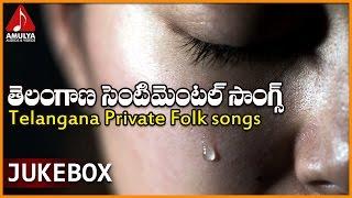 Telangana Sentimental Songs | Telugu Private Audio Songs Jukebox | Amulya Audios And Videos