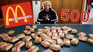 Eating 500 Chicken Nuggets For 500,000 Subscribers!