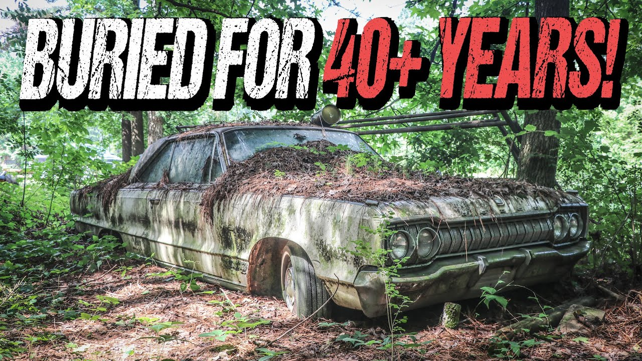 ABANDONED Dodge Monaco BURIED for 40+ Years: Will It Run?