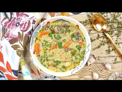 Крем Суп С Грибами И Курицей