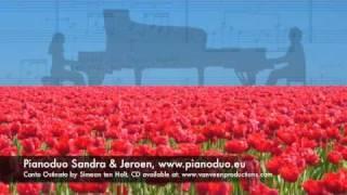 Canto Ostinato, 2 piano Sandra Jeroen www.pianoduo.eu