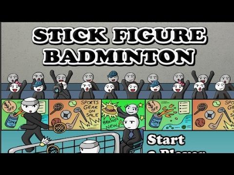 Mini Games Series Episode 3 Stickman Badminton Y8
