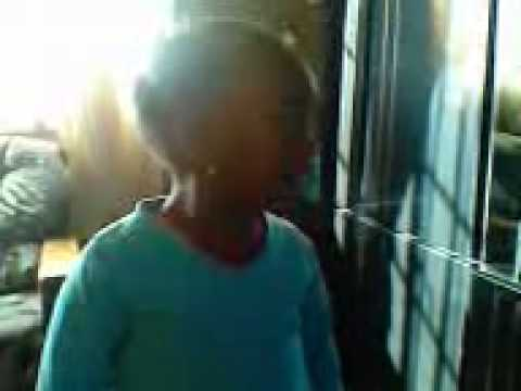 Oskido tsa mandebele by a 3 year old