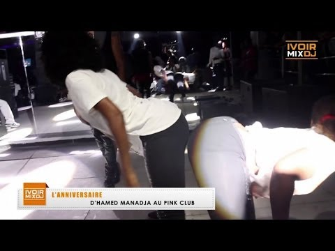 Ivoirmix - Anniversaire d'Hamed Manadja au Pink Club -Abidjan