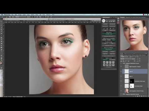 Skin Retouching: Custom Frequency Separation with BEAUTY RETOUCH Panel