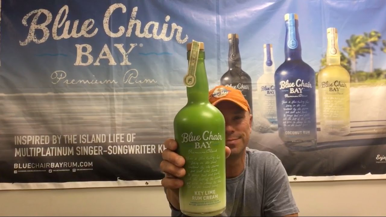 kenny chesney introduces blue chair bay 39 s newest flavor youtube